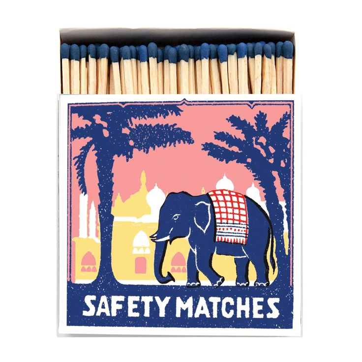 Vintage Long Matches-Home Accessories-Archivist-The Flamboyant-Brassica Mercantile