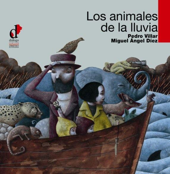 """Miguel Ángel Díez, """"Los Animales de la Lluvia""""."""