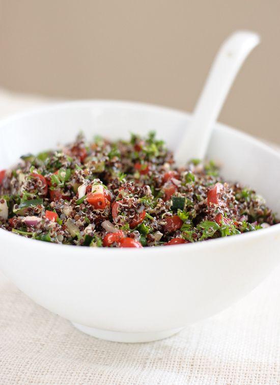 Quinoa tabbouleh, Quinoa and Tabbouleh recipe on Pinterest