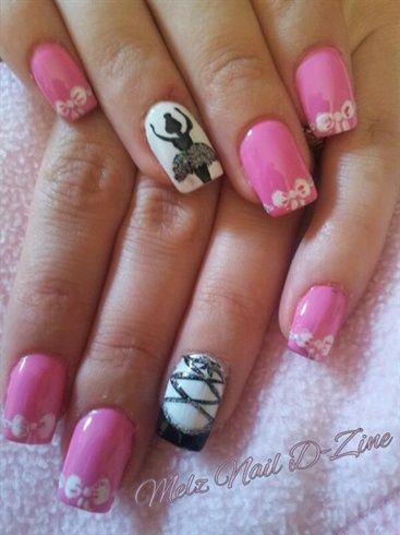 ballet nails ideas