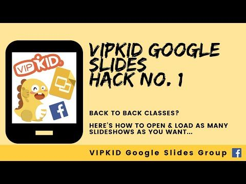 9ead3dc4268c7 1) How to Load ALL your Google Slides at ONCE! - YouTube | vipkid ...