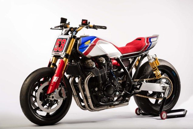 The Honda CB1100 TR Concept Gives a Nod Towards Europe's Flat Track Fascination