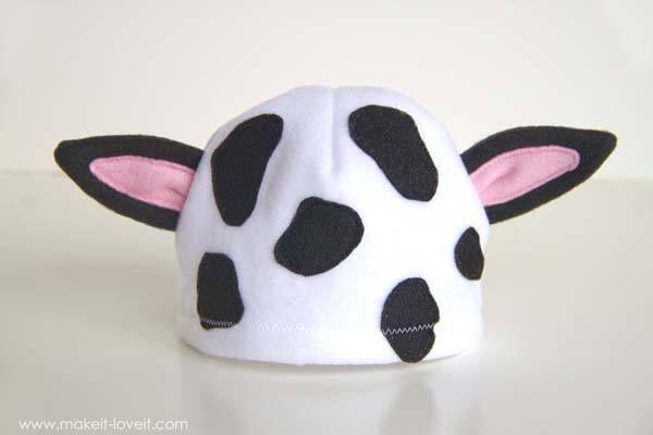 Cómo hacer un disfraz de vaca fácil en casa