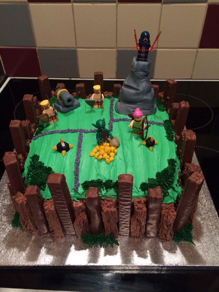 'Clash of Clans' cake