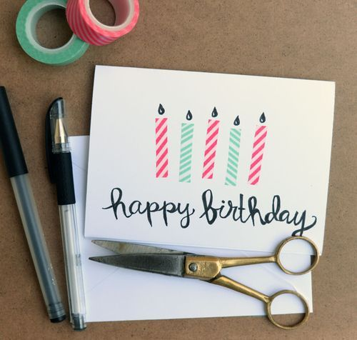 1000+ Ideas About Diy Birthday Cards On Pinterest