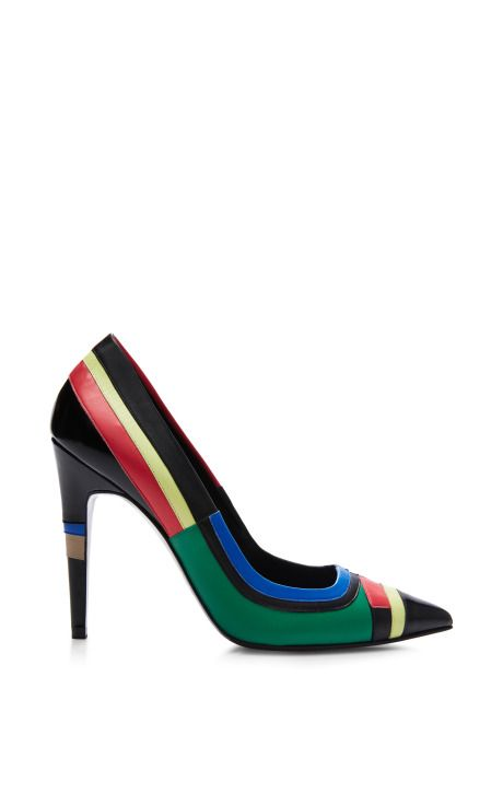 Cibies Pump In Multicolor by Pierre Hardy for Preorder on Moda Operandi