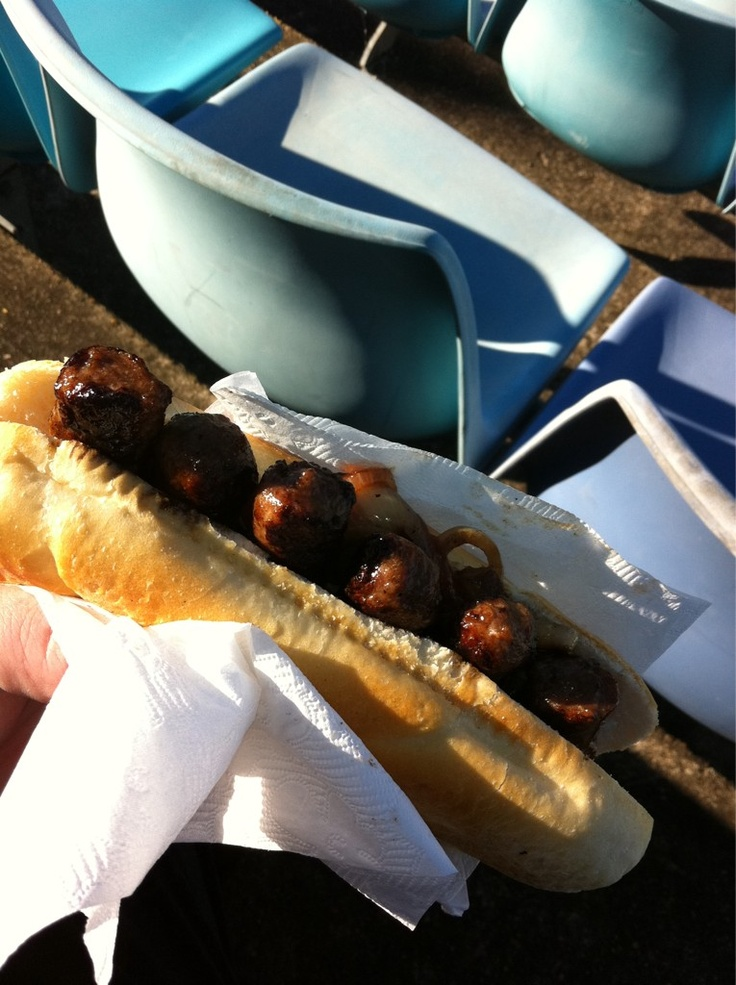 Cevapi at Sydney United v Sydney Olympic