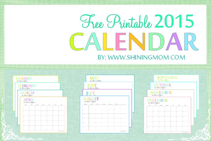 Family Calendar 2015 Printable : Best images about printable on pinterest kids