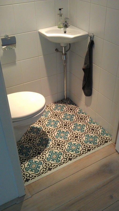 witte mozaiek tegels wc - Google zoeken
