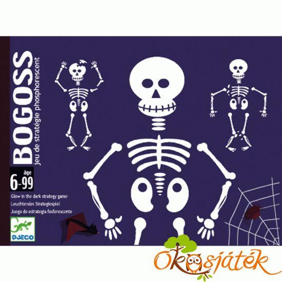 Bogoss, a sötétben foszforeszkáló kártyajáték  - DJ5160 (BO)