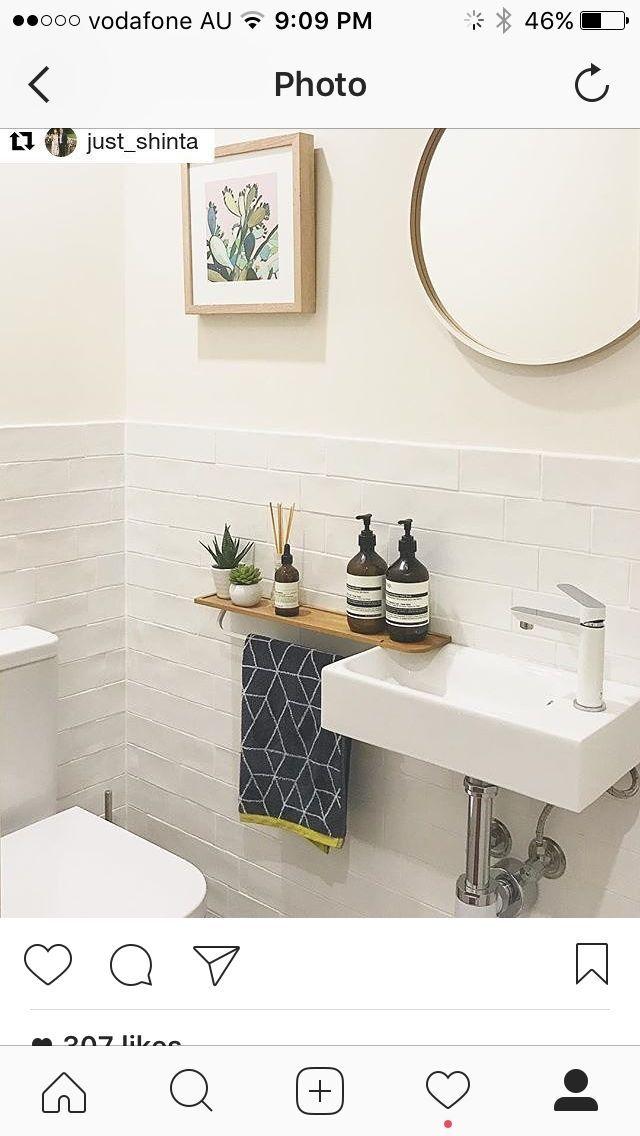 Handtuchhalter Ideen für WC – #