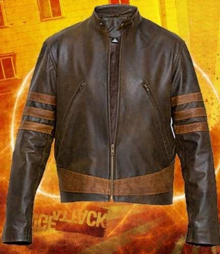 Jaqueta Wolverine Jacket Leather X-men Logan - R$ 399,99