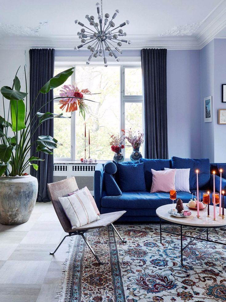 Western Decor Sitting Rooms Sitting Rooms Cosy Traditional Sitting Rooms Si Cosy Blue Sofas Living Room Blue Living Room Blue Velvet Sofa Living Room