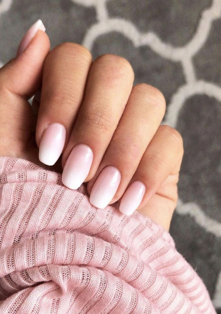 10 - Baby boomer nails are the better French manicure ...