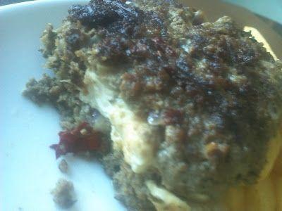 About Food And Fashion...: Heerlijke griekse Bifteki - gekruid gehakt gevuld met feta....paneermeel weg laten