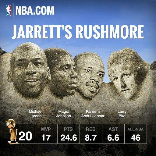 Jarrett Jack's Mount Rushmore