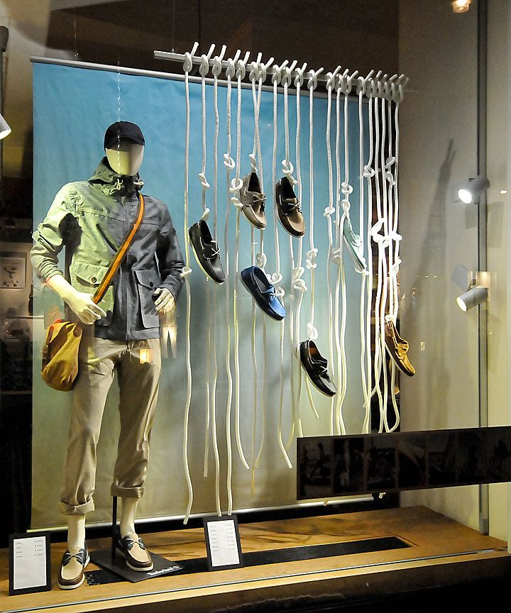 Great easy idea. You just need a pole and some string to hand your shoes from. Coloured string or ribbon can be used to create amazing theme and tie in with the season or holiday period www.kmjshoes.com.au hang in there, pinned by Ton van der Veer