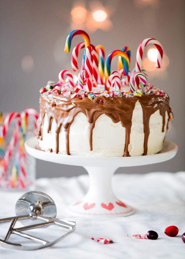 Candy Cane Torte mit Kenwood Chef Titanium