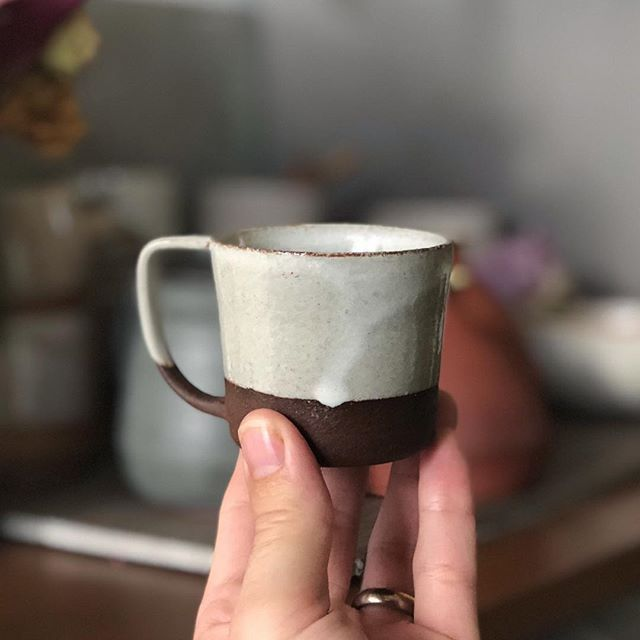 The Results Of One Of My Espresso Cup Explorations It S The Right Size And Comfortable To Hold Beautiful D Espresso Cups Ceramic Espresso Cups Ceramic Dishes