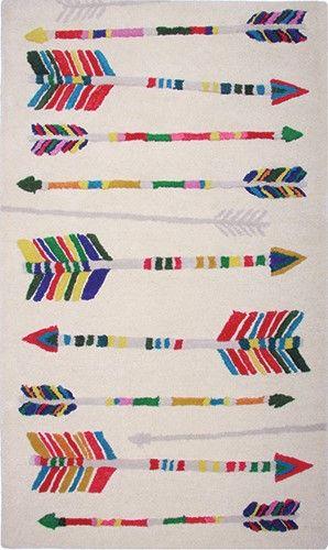 Kindervloerkleed Indianen Pijlen Nattiot