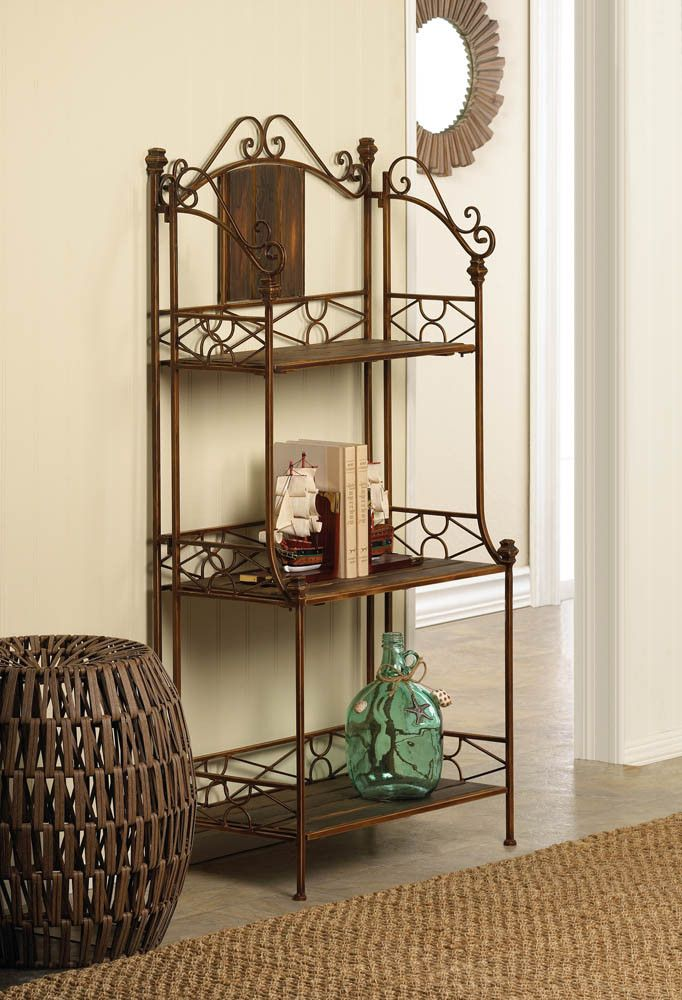 Rustic Baker's Rack Shelf