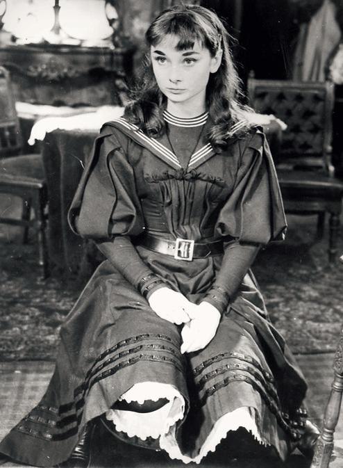 """""""Colette avait personnellement choisi le Audrey Hepburn encore inconnu à première vue pour jouer le rôle-titre."""""""