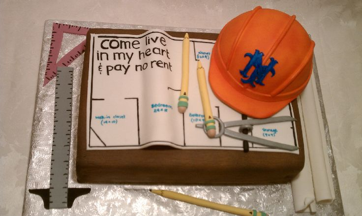 Cake Design For Civil Engineer : 27 best images about Building themed cakes on Pinterest