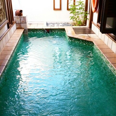 Own private pool at Port Dickson Grand Lexis hotel.. :)