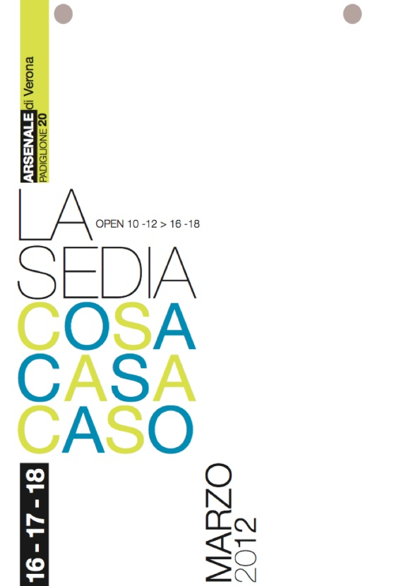 Mostra : La sedia: cosa, casa, caso. by valentina Rossi, via Behance