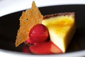 Dessert from Dave Watts, Cotswold House