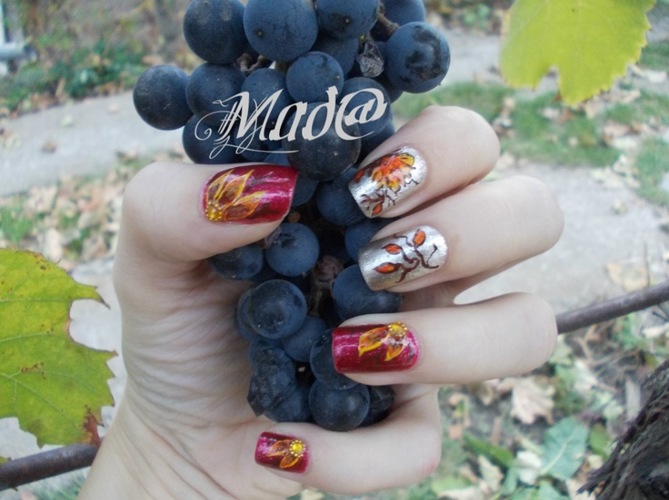 Nail art: Autumn is here! ~ Life, passion and beauty