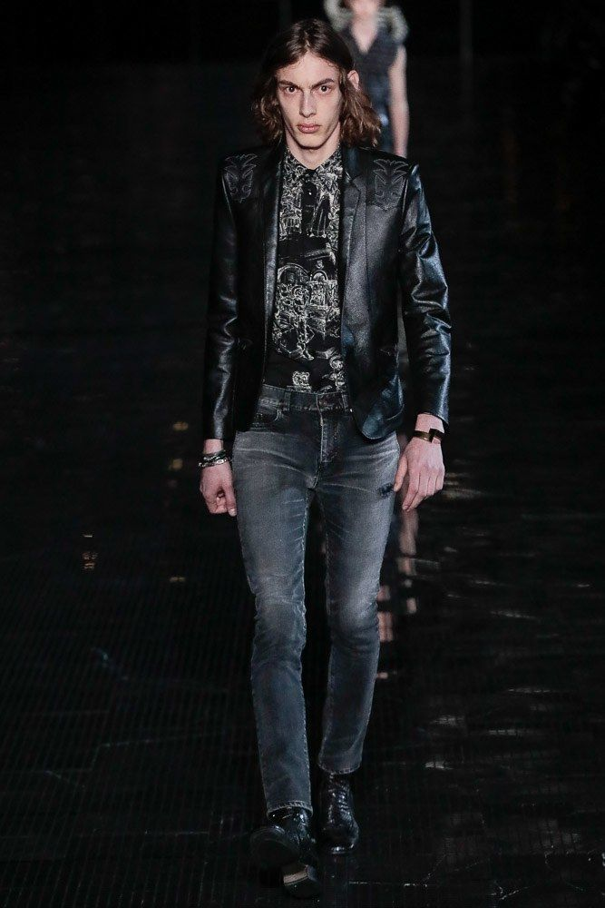 Saint Laurent Spring 2019 Menswear Fashion Show in 2019