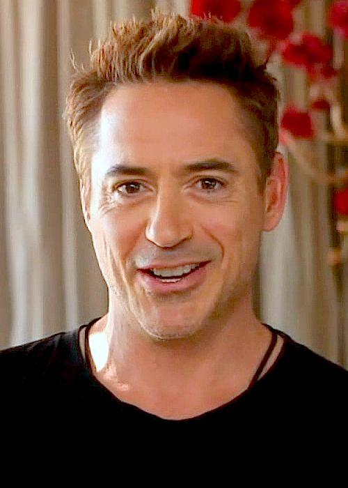 Robert Downey Jr. in a video filmed honoring Sir Ben Kingsley for the Britannia Awards (BAFTA), November 10, 2013.