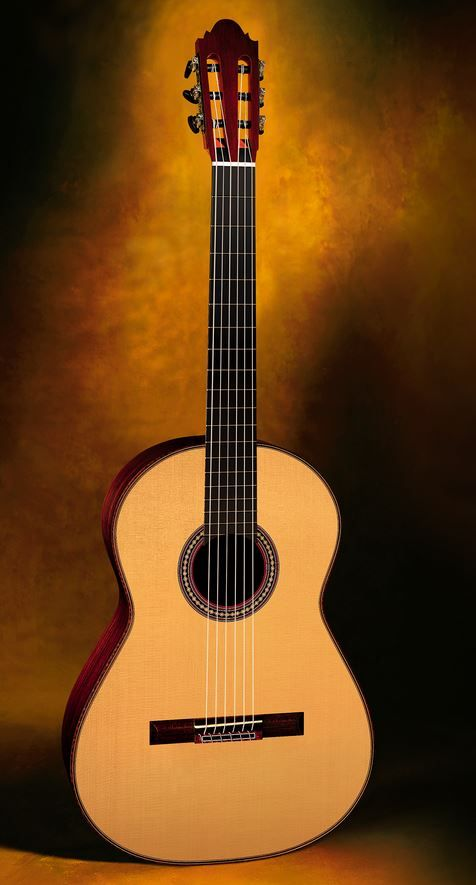 Classical Guitar Thomas Fredholm, Sweden Antonio de Torres 1890 SE 141 Homage cypress/spr. 2008 $8,500.00 Inquire Here: 216.752.7502 Materials: Cypress sides and back, European spr. soundboard, ebony bindings, Sloane machine heads, French polish of shellac finish, low very easy action, 650mm string length, hardshell case. #AntonioDeTorresClassicalGuitar #NewClassicalGuitars #ClassicalGuitars #ClassicalGuitarDealer