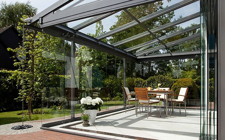die besten 25 terrassendach glas ideen auf pinterest terrassendach pergola mit dach und. Black Bedroom Furniture Sets. Home Design Ideas