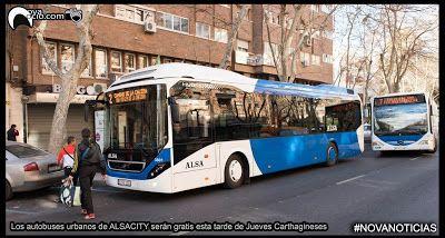 novaocio.com: Los autobuses urbanos de ALSACITY serán gratis est...