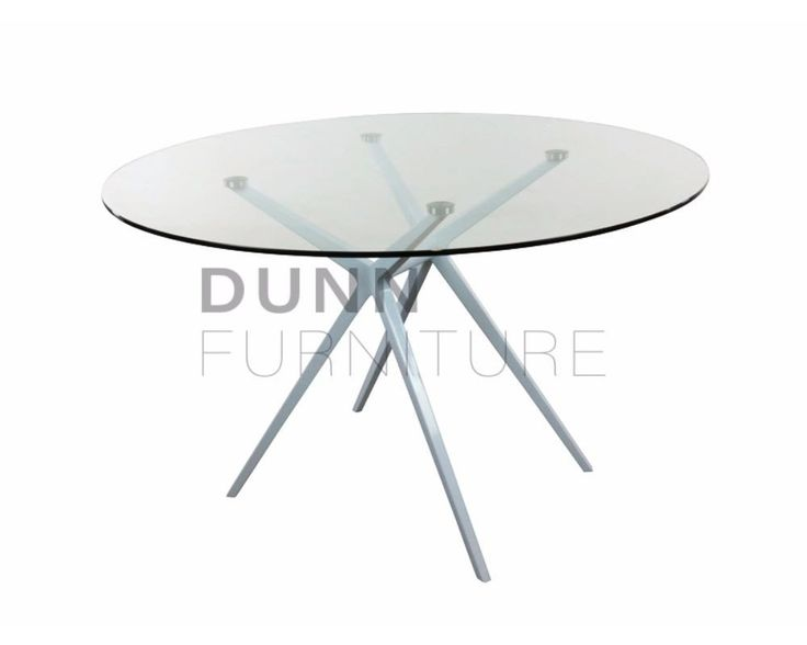 Ares Round Meeting Table Glass – Dunn Furniture