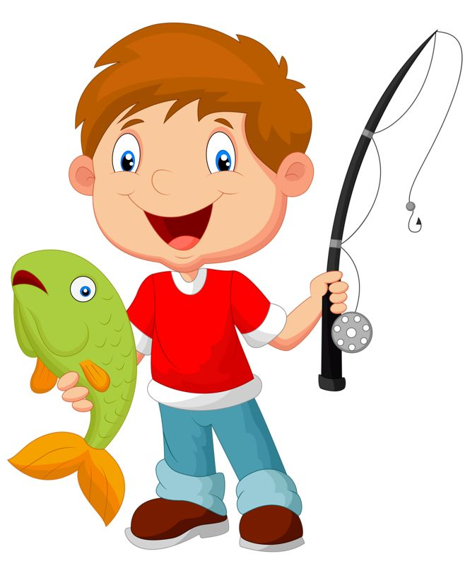 33 best Clipart - Fishing images on Pinterest