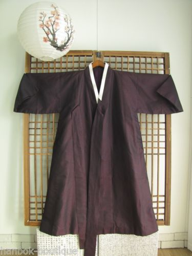 HANBOK Coat Durumagi Korean Traditional Clothes Men Coat
