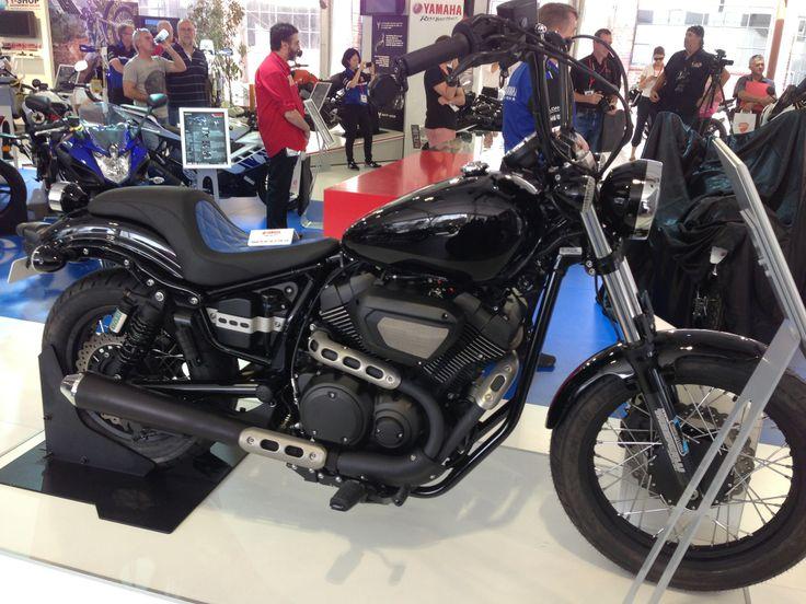 Cruiser & Trike's Yamaha Bolt  Read the story here: http://motorbikewriter.com/new-models-at-moto-expo/