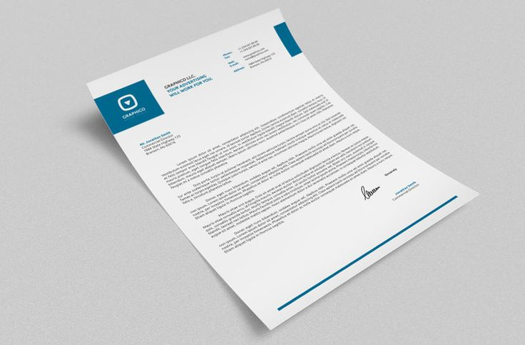 Fuzica Creative Inc Provides #LetterHead #GraphicsDesign - corporate letterhead