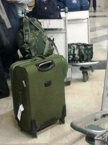 ilustrasi tas bagasi orang asing yang mendarat di bandara. (ist)