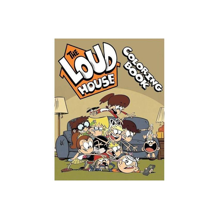The Loud House Coloring Book by Lara Douglas (Paperback