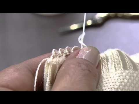 Toalha de visita com Beth Mattelli e Ponto Crivo com Leila Jacob | Vitrine do artesanato na tv - YouTube