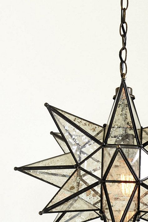 Larger than most pendants out there, our Moravian Star Pendant is perfect anywhere you want a special focal point. Features a hand-welded metal frame.