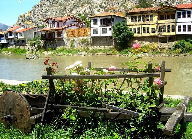 Yesilirmak River, Amasya, Turkey