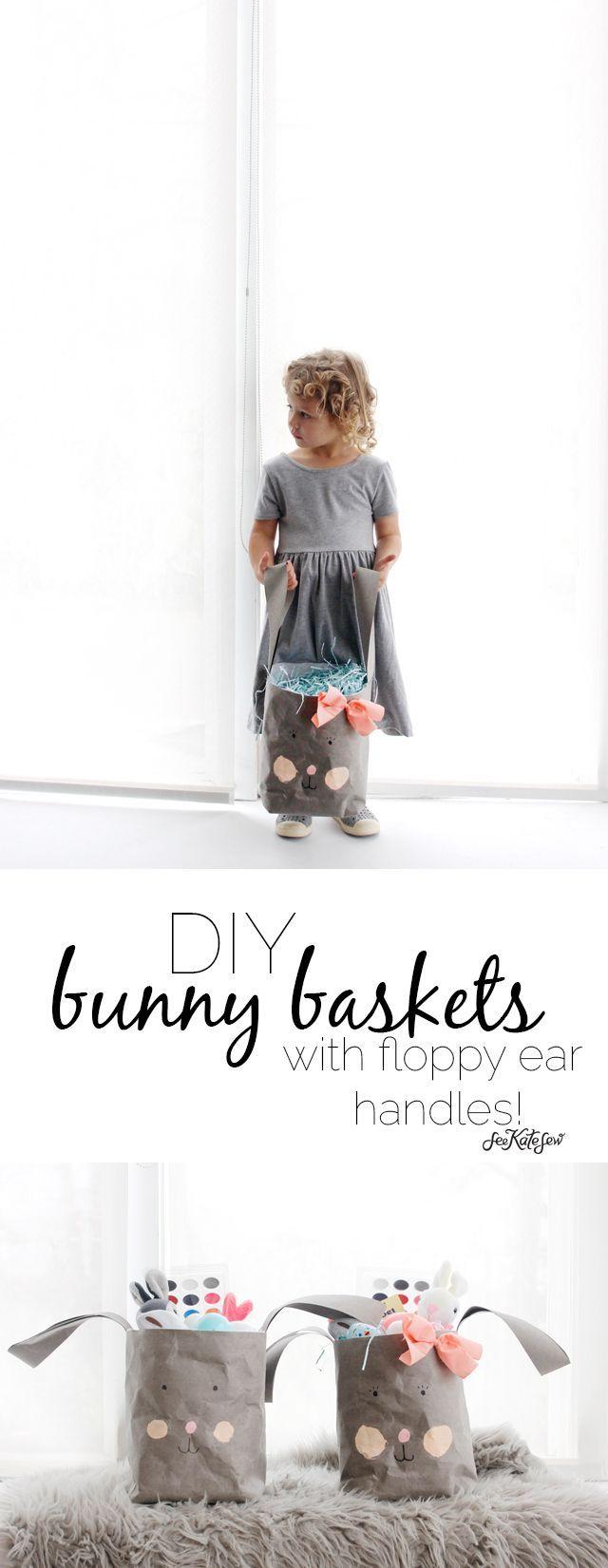 DIY Bunny Basket | See Kate Sew