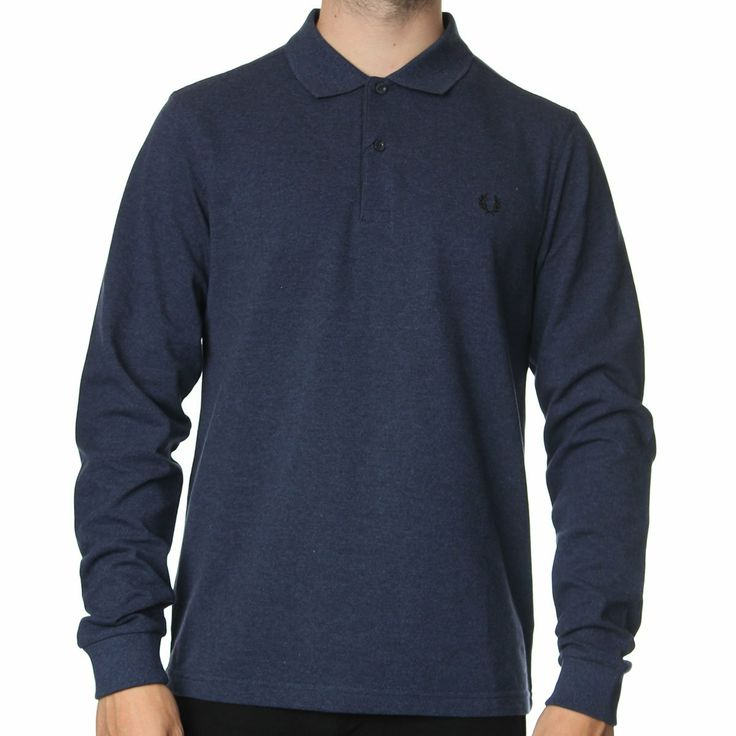 Fred Perry M3250 Long Sleeve Polo Shirt. Shop now at http://www
