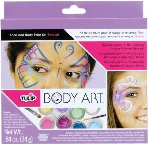 Tulip Body art kit pintura de cara y cuerpo Festival 24,60