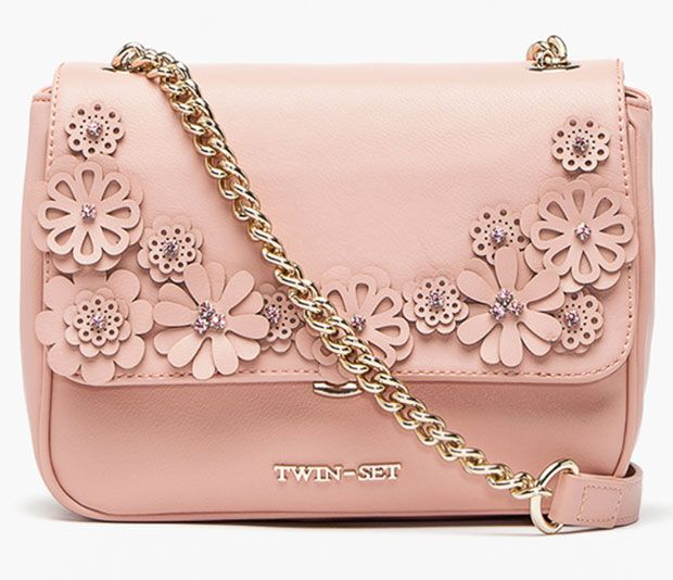 Borsa rosa twin set simona barbieri